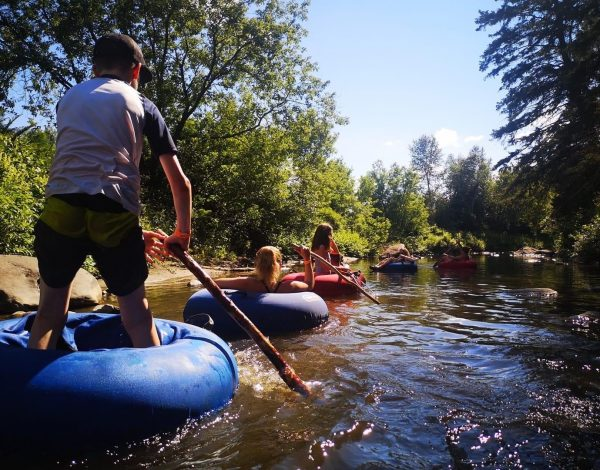 Camping Riviere Nicolet bouees